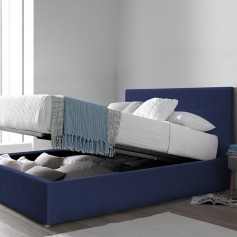 Canapé abatible tapizado CARLOTA