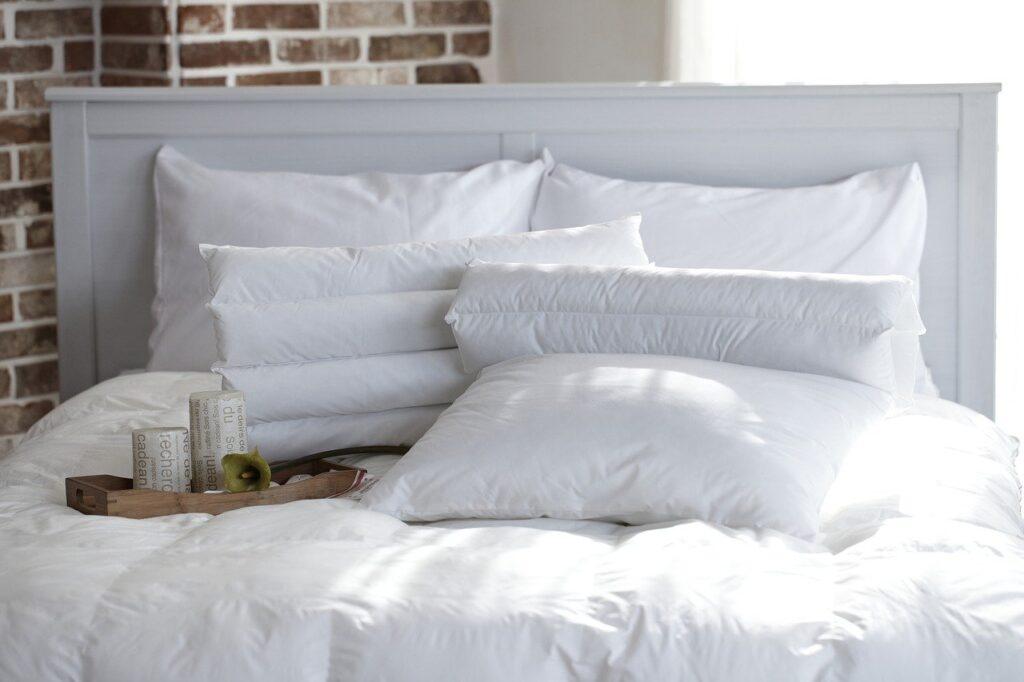 Escogiendo la almohada según sus materiales